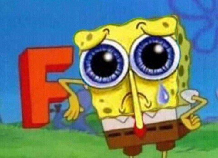 That's the end of Spongebob  <br>http://pic.twitter.com/WQIfZjBDDZ