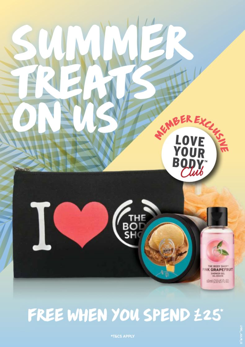 Dont miss your opportunity to receive free treats from @TheBodyShopUK when you spend over £25.00 between 27.08.19 & 31.08.19! ❤️*Ts & Cs apply #MarketPlaceBolton #Bolton #TheBodyShop