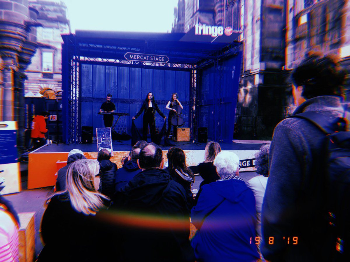 Nothing feels more like #home to my transient self than #Edinburgh. There was something so special about singing on that outdoor @virginmoney stage by #StGiles Cathedral on a buzzing #EdFringe Saturday. I already long to be back! #Hauntology<br>http://pic.twitter.com/JHLtmezRIG