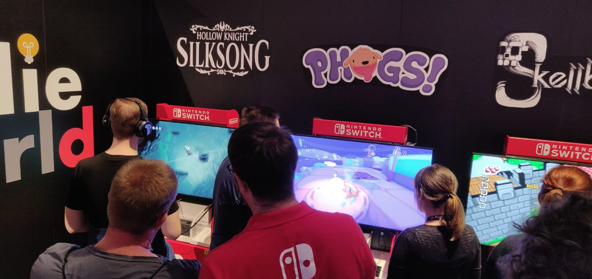 🔵 Hey gamers, visit us in Halle 9.1 A11 at #Gamescom2019! 🔴 WE'RE ALREADY HAVING SO MUCH FUN!
