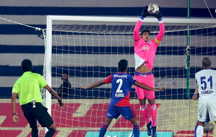 From palming away saves for the team to having the #ArjunaAward in your palms, you have deserved every bit of it Paaji. Many congratulations @GurpreetGK. 👏🏼🙌🏼🙏🏼