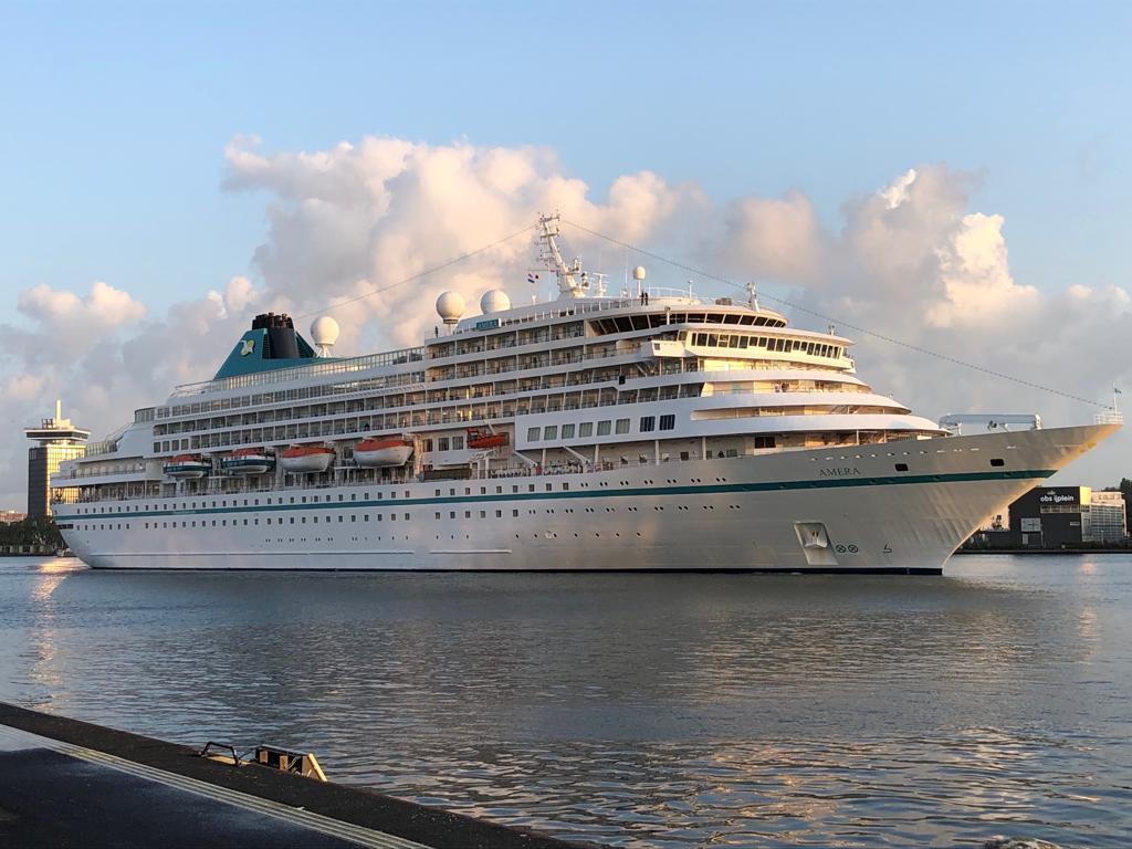 Amera on this beautiful morning. #PhoenixReisen #cruisespic.twitter.com/0Jt3BQ13Gm