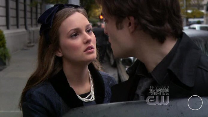 Blair : The worst thing you've ever done, the darkest thought you've ever had,  I will stand by you through anything .   Chuck : And why would you do that?  Blair : Because... I love you.    #GossipGirl