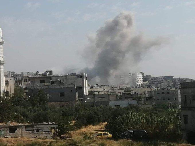 Kαι τώρα η Jisr al-Shughour. Ο στρατός κινείται στον άξονα προς την πόλη...