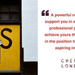 Image for the Tweet beginning: #Networking tips from @cherrylondon CEO