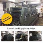 Image for the Tweet beginning: Remarketed Equipment Offer: Heidelberg GTO