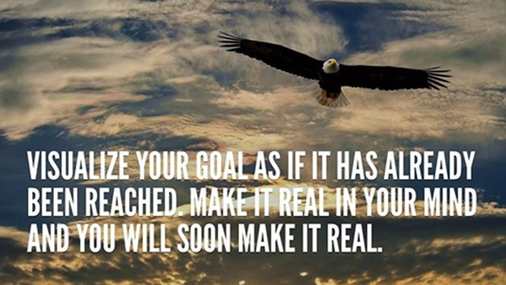 Visualize your goal as if you've already achieved it. #personaldevelopment <br>http://pic.twitter.com/lyrWp0xiLZ
