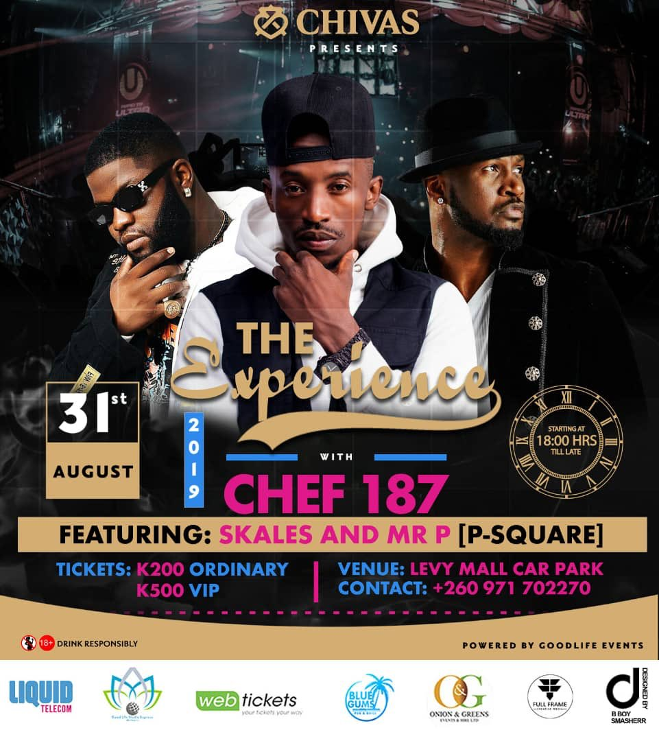 Excited about this years experience concert!! Congratulations to @chefy187 , you deserve it brother ! Love and respek to @youngskales @peterpsquare for the support rendered to our very own Lyrical sensei , the numero uno . We are coming out in numbers 🇿🇲 🇳🇬