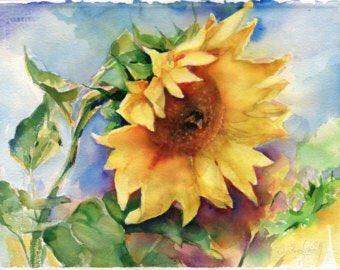 Art prints.Olga Sternyk Art Is colors, is flowers, is the most beautiful .... Tree watercolor painting original wood painting by OlgaSternyk Painting Trees, Tree Watercolor Painting,