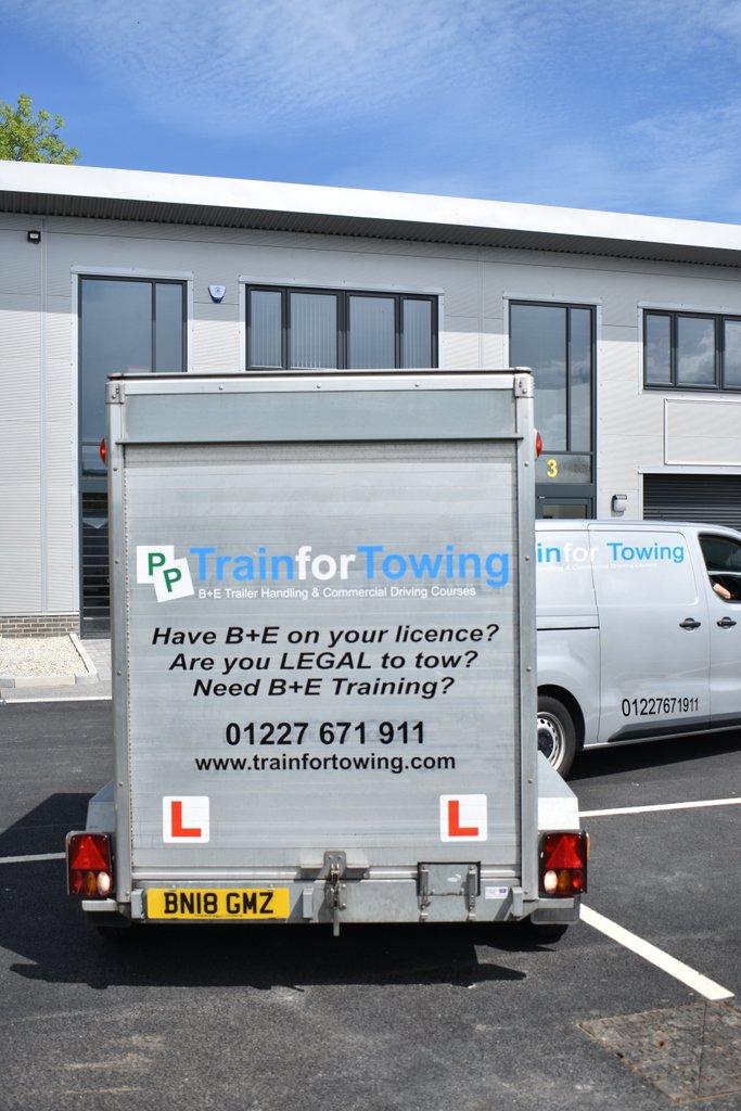 Train For Towing - B+E Car & Trailer Courses (@Train4Towing