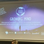 Image for the Tweet beginning: Growing Mind researcher meeting opening