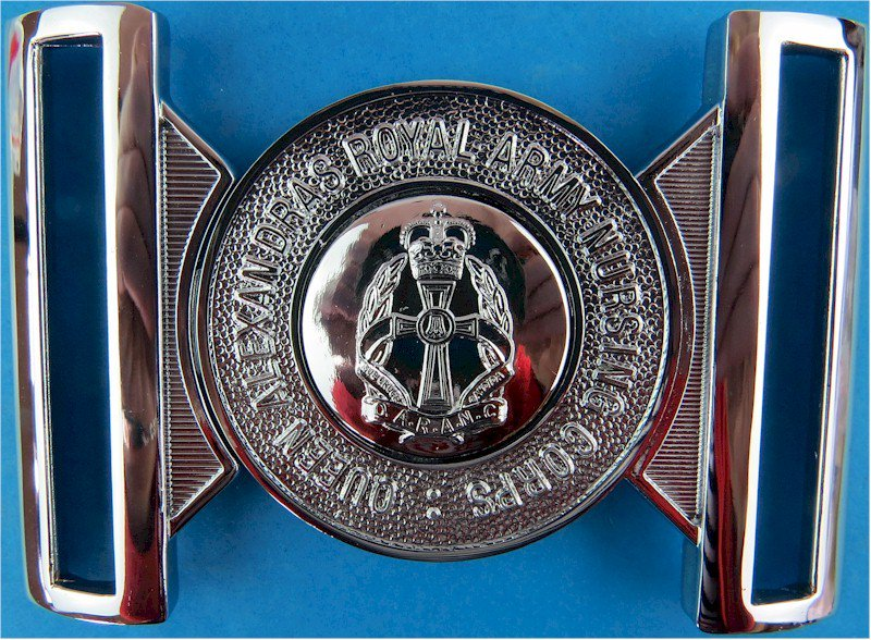 Queen Alexandra's Royal Army Nursing Corps Buckle Locket Type Buckle with Queen Elizabeth's Crown. Chrome-plated Stable Belt, be  £ 20.00 https://t.co/zrcuIRzKu8 https://t.co/Sg3cu2dWvT