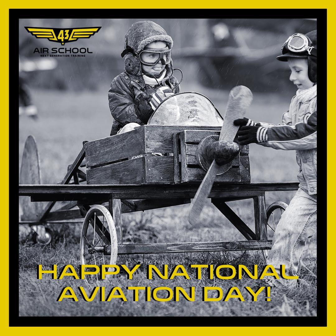 FLY THE DREAM! It's National Aviation Day  . . . . #aviationtopia #aviations #aviationnerd #aviationhistory #aviationpic #aviationphoto #aviationpics #aviationgoals #aviationeverywhere #aviationaddict #aviationnation #aviationdaily #aviationgeeks #aviationlife #aviationgeekpic.twitter.com/w1L2fyXNyO