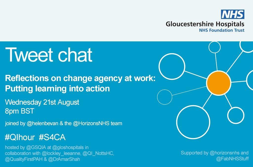We hope you can join @gsqia for a tweetchat tomorrow , Wednesday 21 August from 8pm (BST) 💡 Share your reflections on the #S4CA and let us know how you have put your learning into action! 💥 Dont forget the hashtags 😃 #QIhour #S4CA