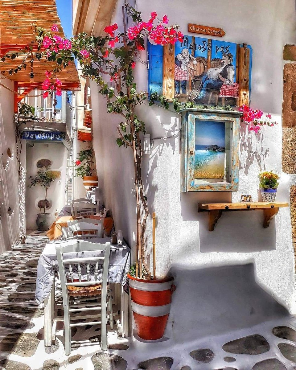 Naxos is a beautiful island full of colorful corners. #Naxos<br>http://pic.twitter.com/vtgA11cPxT