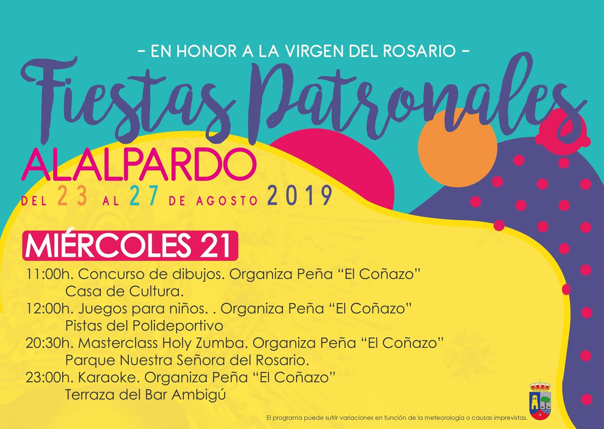 Fiestasalalpardo2019 Hashtag On Twitter