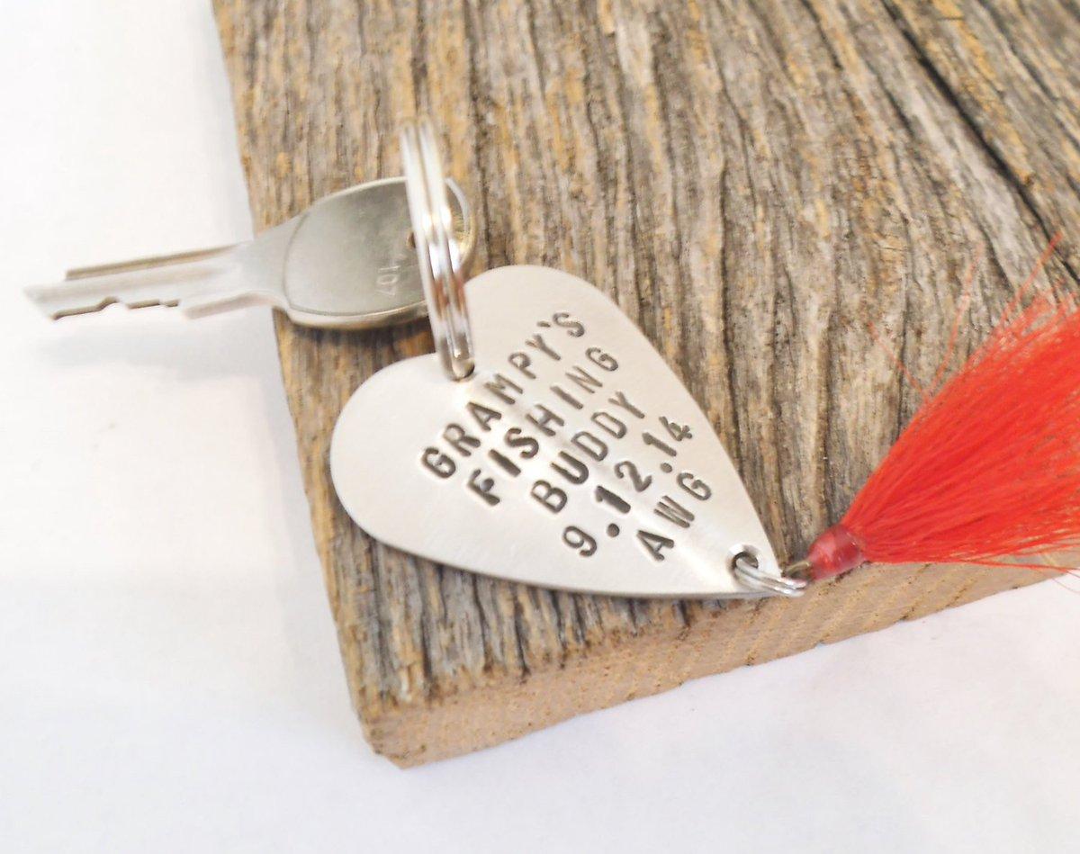 Grandpa Keychain Father's Day Grampy Keyring for Men Custom Keychain Personalized Fishing Lure New Grandparent Fishing Buddy Tassel Keychain http://tuppu.net/f3f3970b #Shopify #CandTCustomLures #New_grandparent