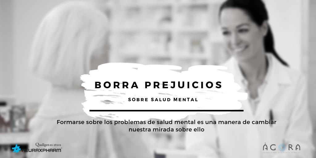 🧠La importancia del abordaje de los #pacientes con #depresión, #trastornobipolar y #esquizofrenia desde #farmacia.  🥼Formación para #farmacéuticos en relación a los #trastornosmentales vía @agorasanitaria, con el patrocinio de #neuraxpharm