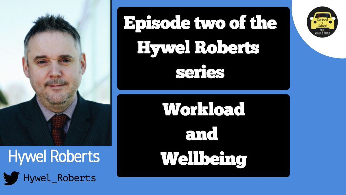 🚨Premiere tomorrow🚨 Episode two of the @HYWEL_ROBERTS series 19.30 Workload and Wellbeing