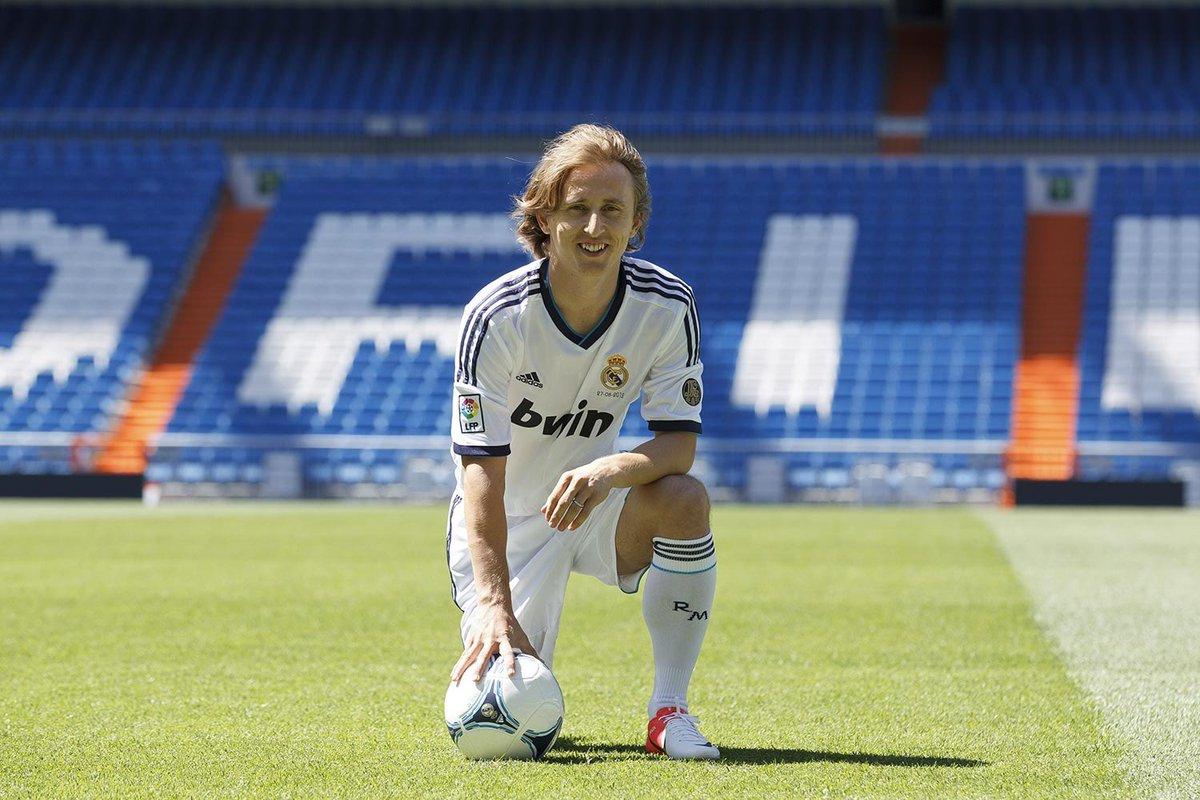 27. 08. 2012 - El comienzo de un viaje increíble en el mejor club del mundo. 7 años de felicidad y de orgullo por pertenecer a la familia del Real Madrid.