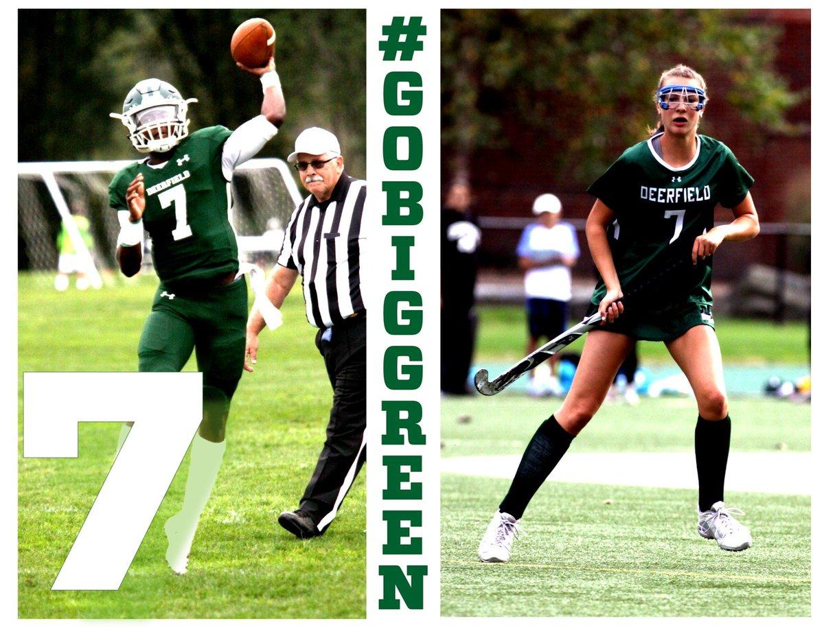 Lucky #7!!! We are in the final week before preseason begins on-campus! #GoBigGreen #Deerfieldteams