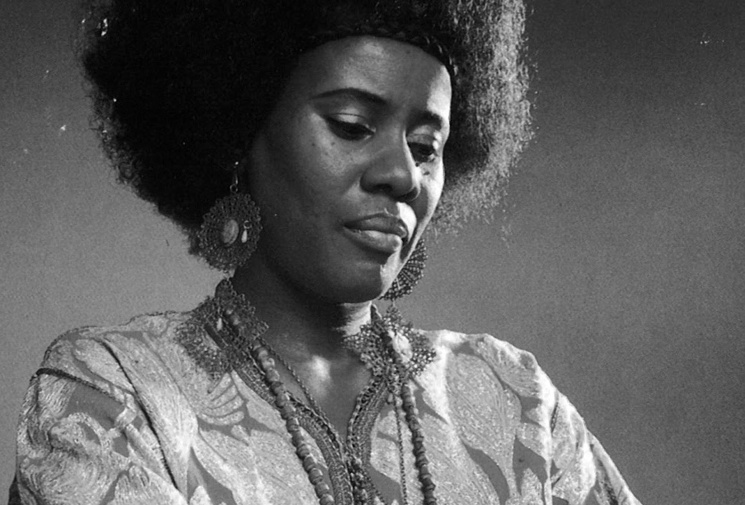 Happy Birthday Alice Coltrane in the cosmos. One of the greatest artists of the 20th C.