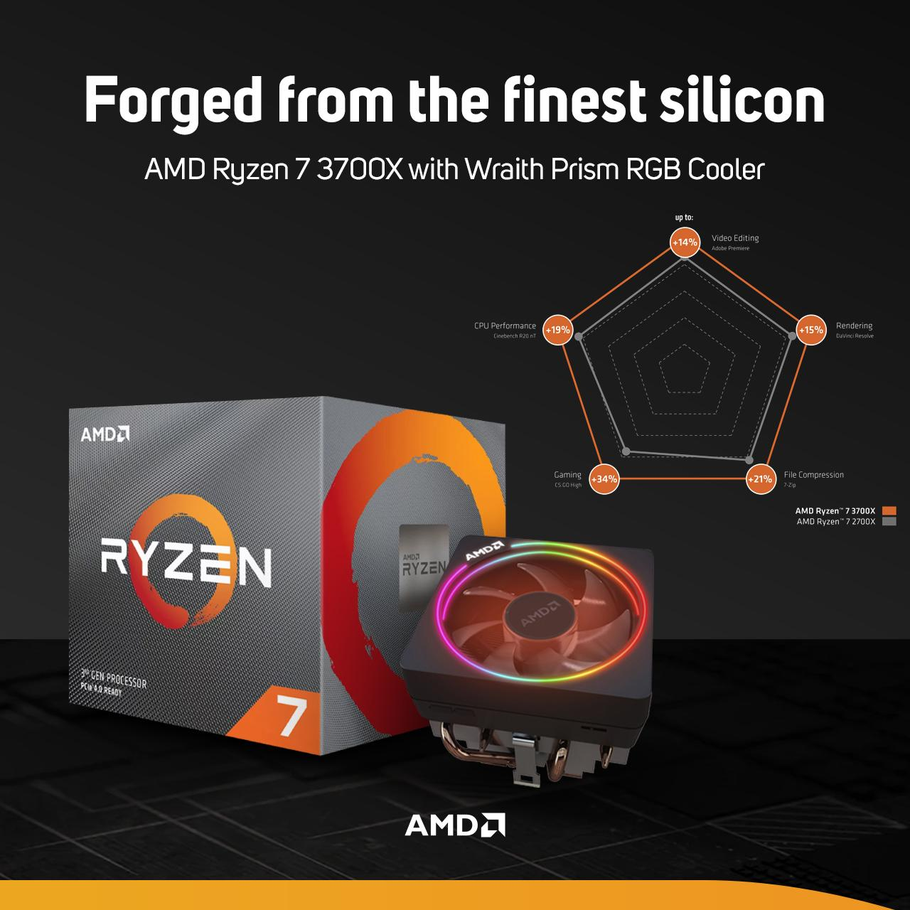Scan Computers On Twitter Amd Ryzen 7 3700x With Wraith Prism Rgb Cooler In Stock Now Plus Get 3 Months Xbox Game Pass For A Limited Time Find Out More Https T Co Ghffwtprik