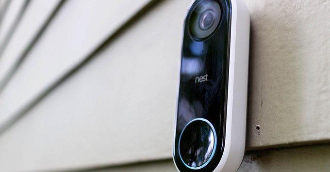 nest hello portier video
