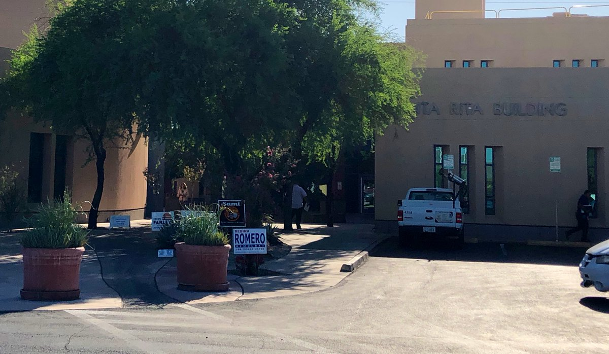 Polling Location at Tucson Resource Center ✅