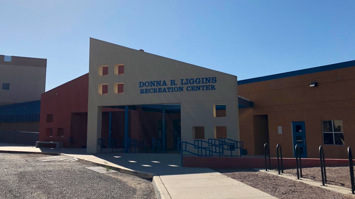 Polling location at Donna Liggins Recreational Center ✅