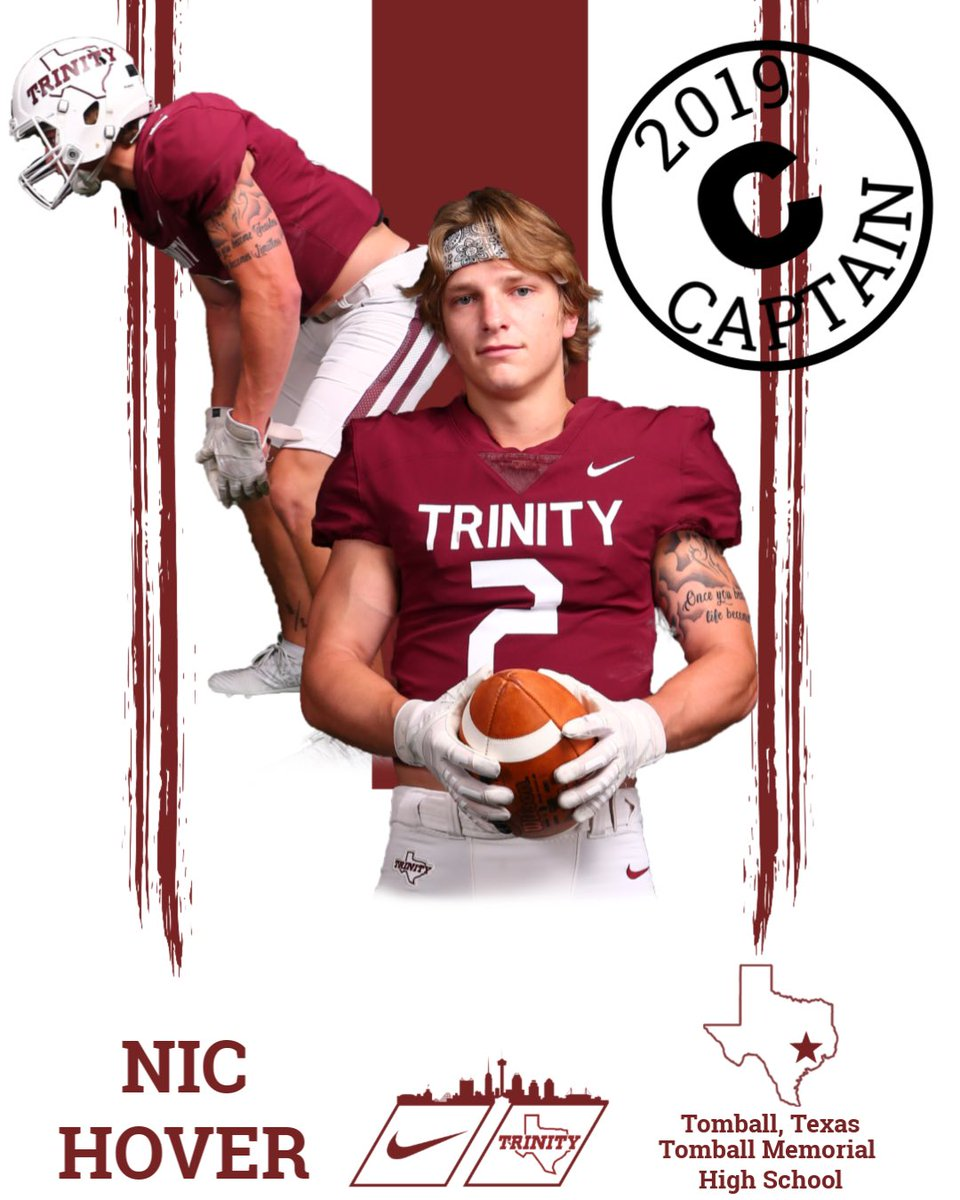 Congratulations @nic_hover on being named a captain! @Football_TMHS #BeTheStandard #PTC