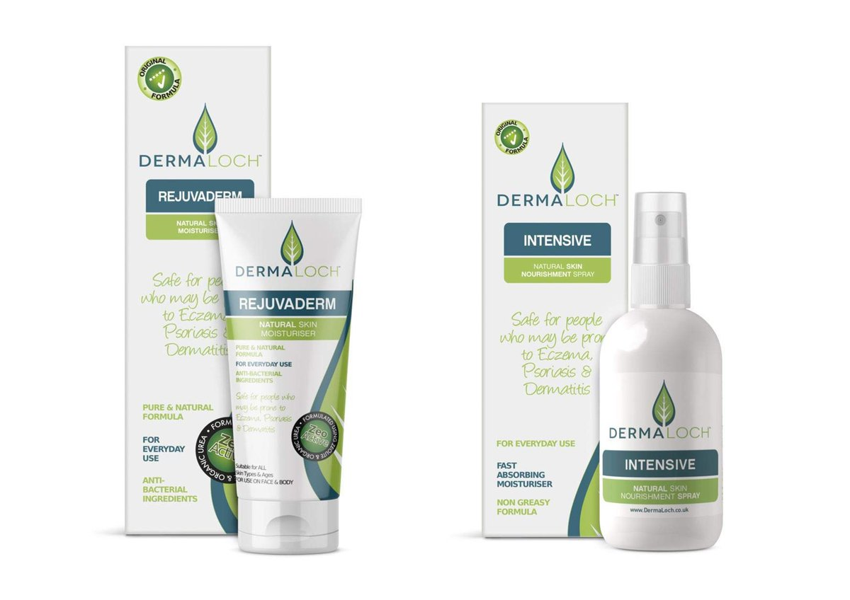 Do you know someone with dry, sensitive, or broken skin? They may benefit from Dermaloch Cream or Spray Both natural skin nourishment moisturisers Safe for people prone to #Eczema #Psoriasis #Dermatitis  Available next day on Amazon Prime  Just click: https://t.co/mA6Xvbuz6V https://t.co/LR4FuOuXxD