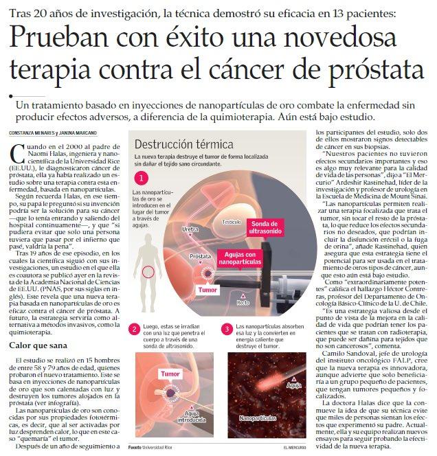 cáncer de próstata sin quimioterapia