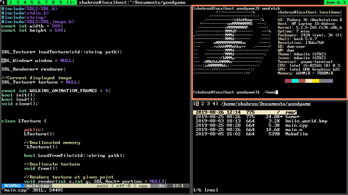 Dwm Powerline Themed Status Bar Unixporn
