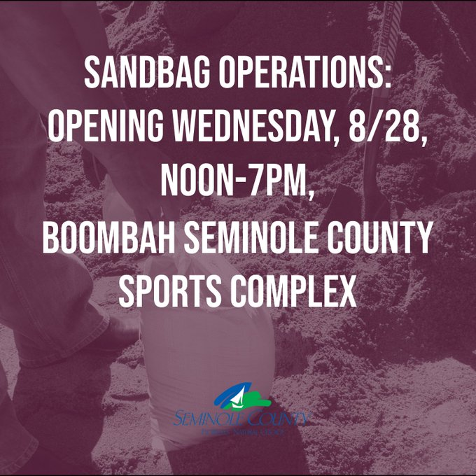 Here's Where You Can Find Sandbags In Central Florida | Chad