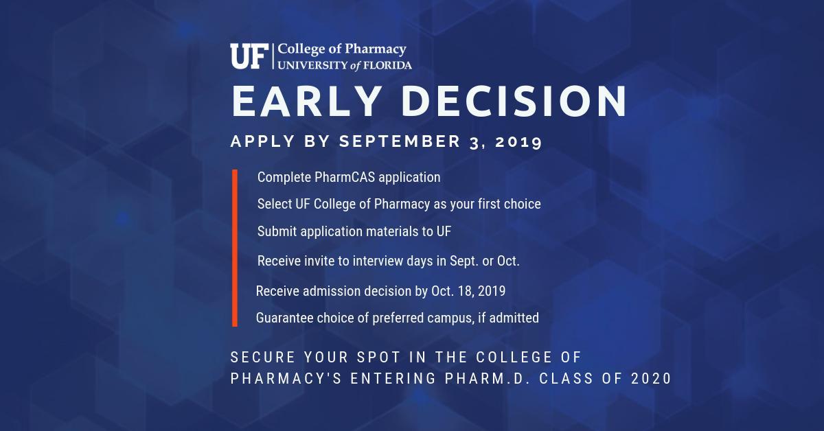Uf Application Deadline >> Uf Pharmacy On Twitter Applying To The Uf Pharm D