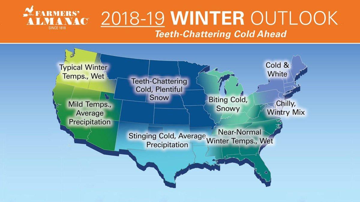 Farmers Almanac 2019 2020 Winter.Chris Martz Weather On Twitter The Farmers Almanac Has