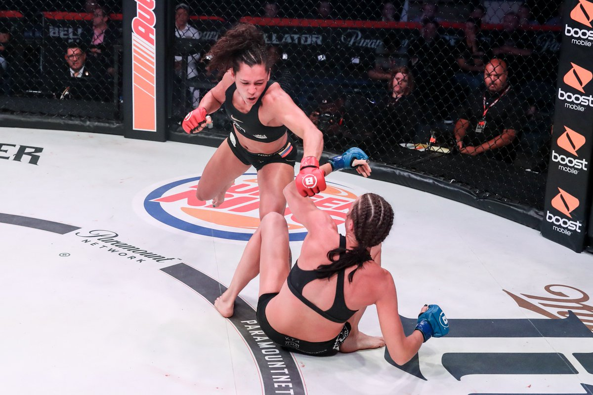 These ladies went to war! Check out @AlejAzuLara and Taylor Turner's pre-fight predictions and the ultimate outcome of their bout at #Bellator225 in this recap video!