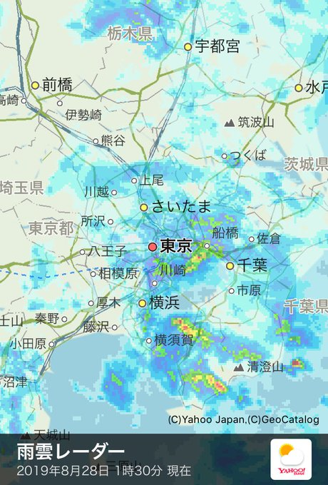 天気 予報 横須賀 雨雲 レーダー