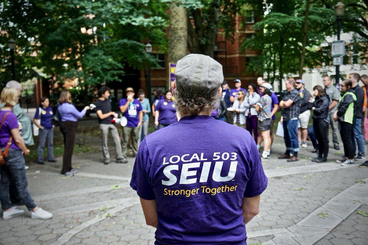 SEIU Local 503 - @SEIULocal503 Twitter Profile and