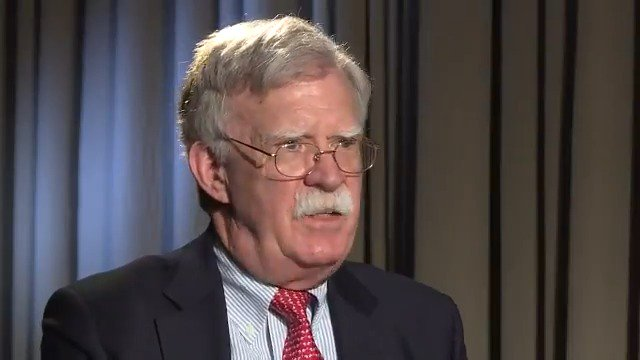 Bolton to @radiosvoboda: Trump's willingness to talk to Iran does not imply changing tough stance