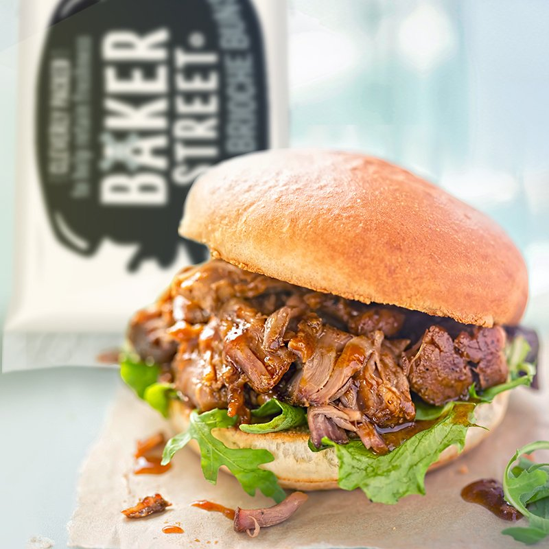What's the most bangin' way to enjoy pulled pork? In  a banging Baker Street Mega Brioche Bun, of course!   Tell us what you'll be barbecuing this weekend and we might send you some of our barbecue essentials! #win  Winners announced Thursday. T&Cs apply: