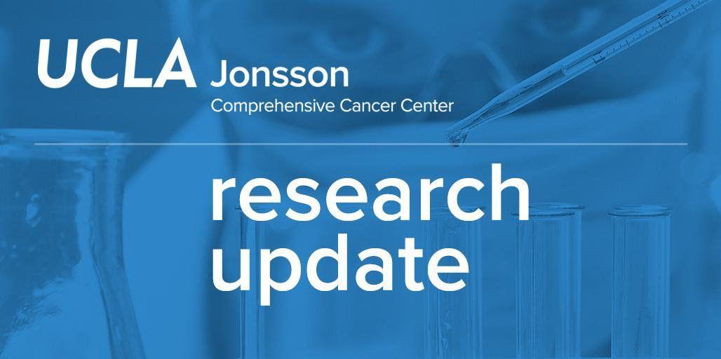 UCLA Jonsson Comprehensive Cancer Center - @UCLAJCCC Twitter