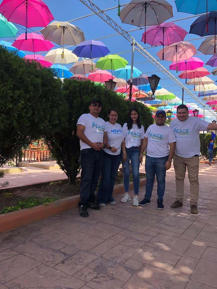 JCI San Pedro Sula and @JCIHONDURAS held an amazing #PeaceSeekers challenge this week as part of the #Act4Peace Tour! #peaceispossible