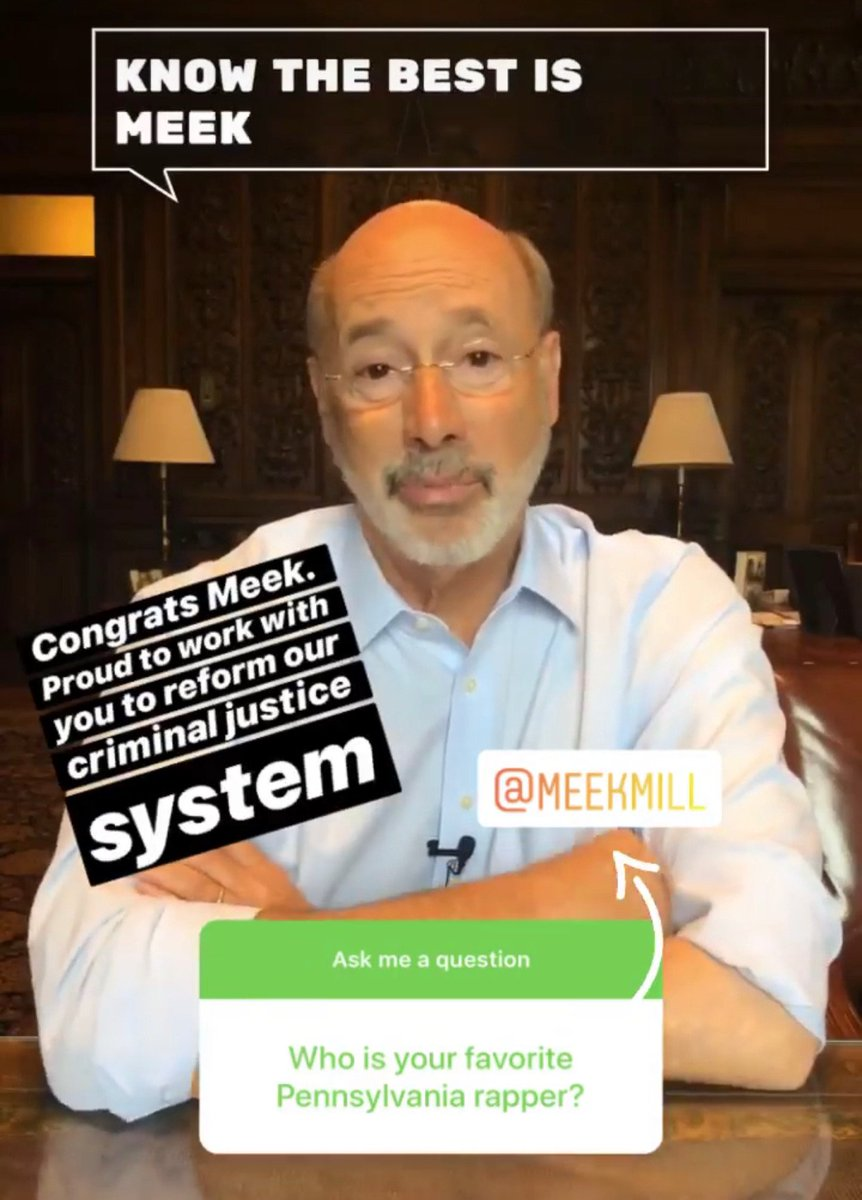 Don't miss my Instagram Q&A. Go to my profile and tap on stories to watch: instagram.com/governortomwolf