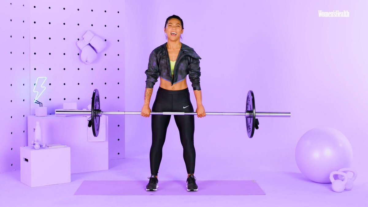 Image for the Tweet beginning: Perfect Your Deadlift with Betina