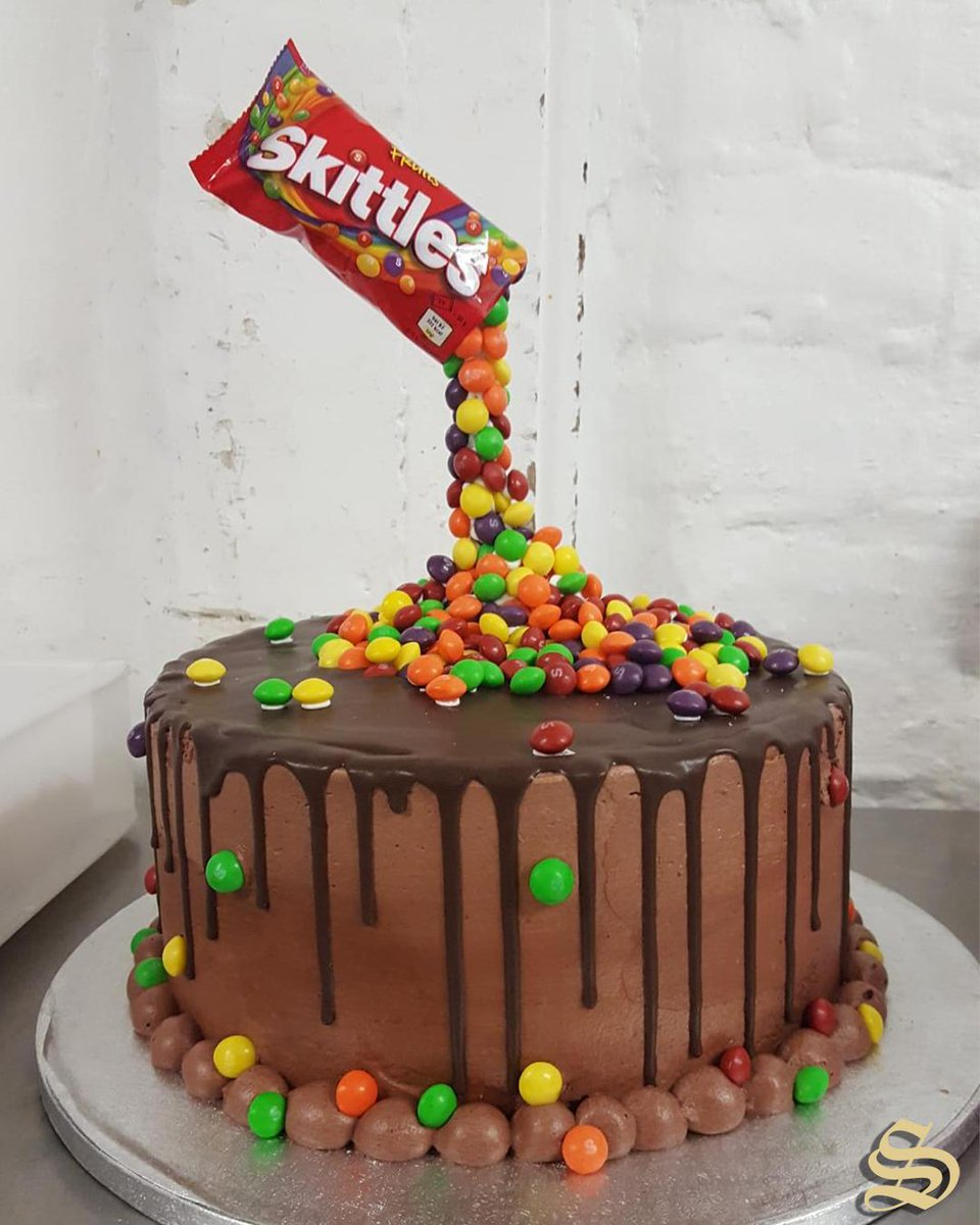 Cool Sextons Bakery On Twitter Taste The Rainbow Heres One Of Funny Birthday Cards Online Barepcheapnameinfo
