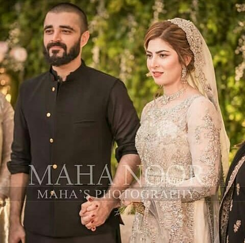 Best Couple  They both are looking perfect together MashaAllah  #HamzaWedsNaimal  #HamzaAliAbbasi<br>http://pic.twitter.com/NEi5BJ0gl0