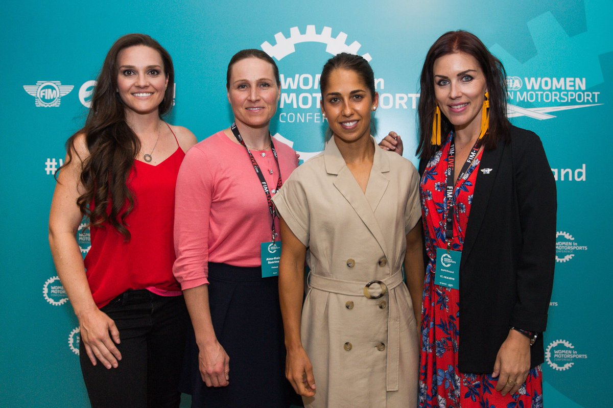 First Women in Motorsport conference takes place in Finland 🗣 Both the FIM and FIA came together for the inaugural Women in Motorsport conference, taking place alongside the #FinlandTest 🇫🇮 #MotoGP | 📰 motogp.com/en/news/2019/0…