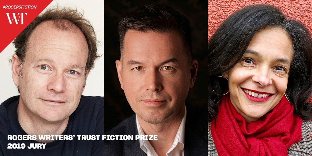 The $50,000 Rogers Writers' Trust Fiction Prize finalists will be announced on September 24! Meet our 2019 jurors @Bock_Dennis, Michael Kaan & Suzette Mayr http://bit.ly/2MqKgqx #RogersFiction #WTAwards #canlit #literaryfiction